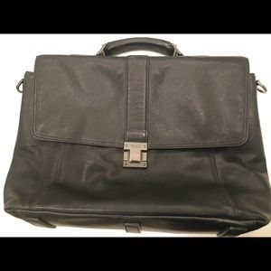 Tumi Leather Briefcase